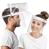HARD Pantalla Protección Facial 1 x Soporte y 2 x Viseras...