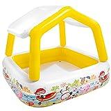 Intex 57470 - Piscina hinchable infantil con toldo extraíble -...