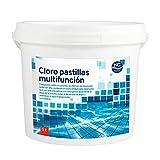 Cloro Multiacción para Piscina en Pastillas 5 Kg | Fabricado en...