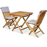 Garland Conjunto de muebles de jardín Bristol de madera de teca,...