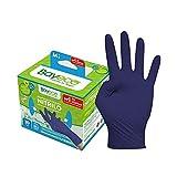 Bayeco - Guantes un solo uso - Nitrilo - Color Azul Oscuro -...