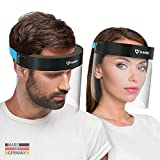 HARD 1x Pro Visera de protección facial, Certificado médico,...