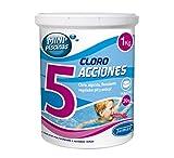 Tamar - Cloro 5 Acciones, Tabletas Multifuncion de 20 grs,...