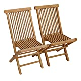 Beneffito SALENTO - Conjunto de 2 sillas de jardín Plegables en...