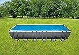 Intex 29027 - Cobertor solar para piscinas rectangulares 732 x...